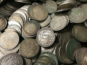 Click now to see the BUY IT NOW Price! 1921 SILVER MORGAN DOLLAR CULL LOT OF 1 000 S$1 COINS  CREDIT CARD PAYMENT ONLY