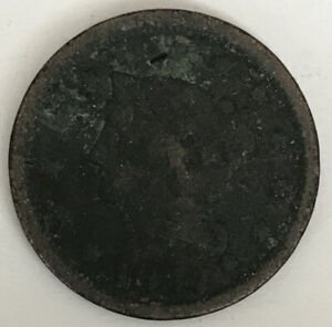 1847 LARGE CENT CIRCULATED CCC975