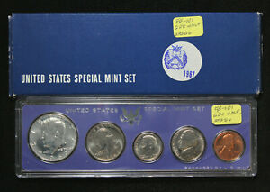 Click now to see the BUY IT NOW Price! 1967 SPECIAL MINT SET W/ DOUBLE DIE OBVERSE KENNEDY HALF DOLLAR