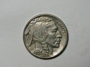 1935 S INDIAN HEAD BUFFALO NICKEL