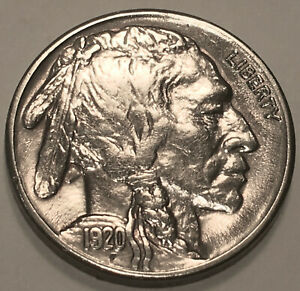 1920 S BUFFALO NICKEL  GEM BU