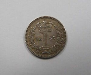 GREAT BRITAIN KING WILLIAM IIII SILVER MAUNDY PENNY 1837