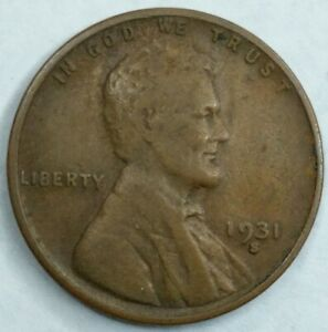 DATE 1931   S   US LINCOLN WHEAT CENT  Q145