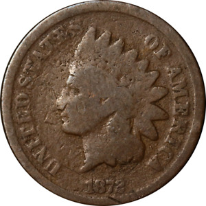 1872 INDIAN CENT GREAT DEALS FROM THE EXECUTIVE COIN COMPANY