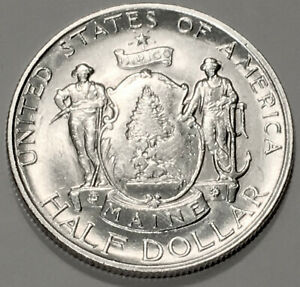 1920 MAINE COMMEMORATIVE GEM BU 1