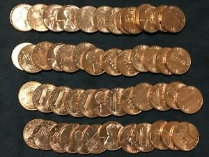 1963 GEM BU LINCOLN CENT ROLLS   ORIGINAL ROLLS  EL0155