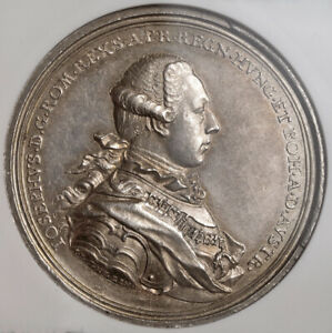 Click now to see the BUY IT NOW Price! 1764 EMPEROR JOSEPH II. LARGE SILVER