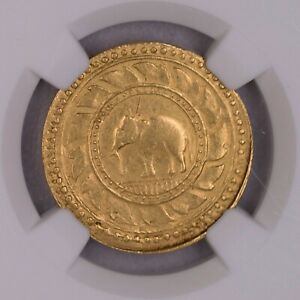 Click now to see the BUY IT NOW Price! NGC AU55 1863 THAILAND RAMA IV 8BAHT GOLD  TYPE