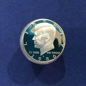 Click now to see the BUY IT NOW Price! 1986 S KENNEDY HALF DOLLAR DCAM CLAD PROOF ROLL OF 20 COINS