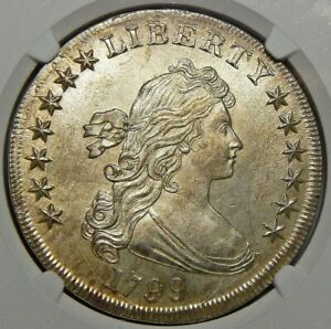 Click now to see the BUY IT NOW Price! 1799 NGC MS65 DRAPED BUST DOLLAR