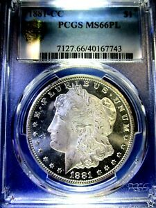 Click now to see the BUY IT NOW Price! 1881 CC MORGAN DOLLAR MS66PL DCAM LY