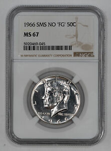 Click now to see the BUY IT NOW Price! 1966 SMS NO 'FG' KENNEDY HALF DOLLAR 50C NGC MS 67 MINT STATE UNC  045