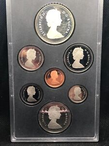 1987 DOUBLE DOLLAR PROOF SET ROYAL CANADIAN SILVER MINT COINS