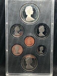1986 CANADA DOUBLE DOLLAR SILVER PROOF SET