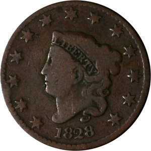 1828 LARGE CENT GREAT DEALS FROM THE EXECUTIVE COIN COMPANY