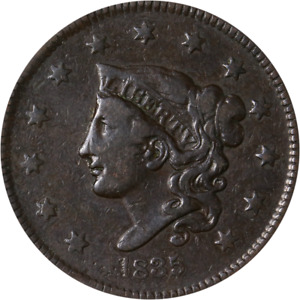 1835 LARGE CENT GREAT DEALS FROM THE EXECUTIVE COIN COMPANY