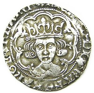 Click now to see the BUY IT NOW Price! 1483 1485 AD MEDIEVAL ENGLAND SILVER GROAT OF KING RICHARD III LONDON SUN & ROSE
