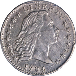 Click now to see the BUY IT NOW Price! 1794 BUST HALF DIME PCGS GENUINE XF DETAILS NICE EYE APPEAL NICE STRIKE