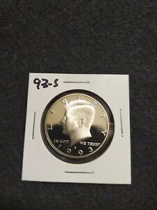 1993 S US PROOF KENNEDY HALF DOLLAR FROM US PROOF SET