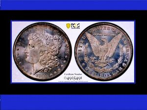 Click now to see the BUY IT NOW Price! 1880 CC MORGAN DOLLAR  POP 3  MS64PL VAM 5 8/7 HIGH 7 NONE HIER IN PCGS PQ