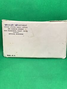 Click now to see the BUY IT NOW Price! 1968 P D & S USA 10 COIN UNCIRCULATED COIN US MINT SET OGP & ENVELOPE NR