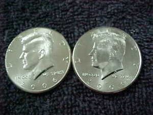 38   2006  19 D & 19 P     KENNEDY HALF DOLLAR UNCIRCULATED FROM US MINT ROLLS
