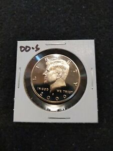 2000 S US PROOF KENNEDY HALF DOLLAR FROM US PROOF SET