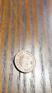 1941  NEWFOUNDLAND  ONE  CENT  COIN   IN GOOD SHAPE