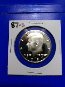 1987 S US PROOF KENNEDY HALF DOLLAR FROM US PROOF SET