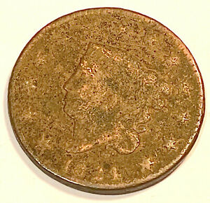1824 LARGE CENT  NICE LOOKING 2