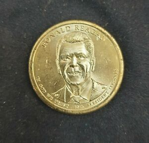 2016 P RONALD REAGAN PRESIDENTIAL ONE DOLLAR COIN FROM U.S. MINT