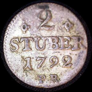 Click now to see the BUY IT NOW Price! GERMAN STATES JULICH BERG 1792 2 STUBER OLD WORLD COIN