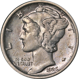 1926 D MERCURY DIME GREAT DEALS FROM THE EXECUTIVE COIN COMPANY