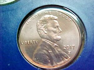 2017 P LINCOLN SHIELD PENNY   FROM US MINT SET