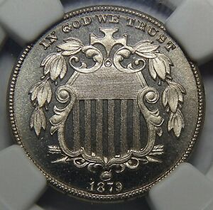 Click now to see the BUY IT NOW Price! 1879 NGC PF67 ULTRA CAMEO SHIELD NICKEL
