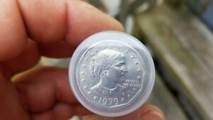 20  1979 P WIDE RIM NEAR DATE SUSAN B. ANTHONY ROLL OF 20 COINS
