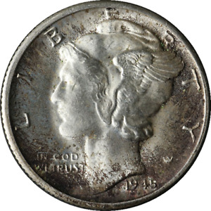 1945 D MERCURY DIME GREAT DEALS FROM THE EXECUTIVE COIN COMPANY