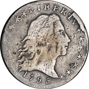 Click now to see the BUY IT NOW Price! 1795 BUST HALF DIME NICE F  DETAILS NICE STRIKE