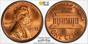 Click now to see the BUY IT NOW Price! 1972 DDO LINCOLN MEMORIAL CENT 1C PCGS & CAC MS 67  RED MINT STATE UNC PLUS  839