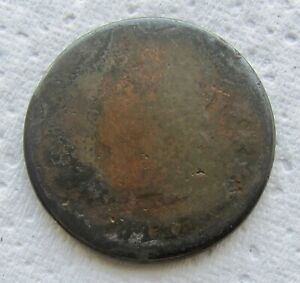 1811 CLASSIC HEAD LARGE CENT  KEY DATE CORRODED