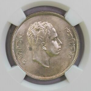Click now to see the BUY IT NOW Price! NGC MS65 AH1372 1953 1RAQ 100FILS POP TOP GEM BU