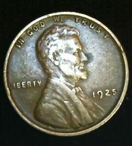 1925   US LINCOLN WHEAT CENT COIN POSSIBLE ERROR