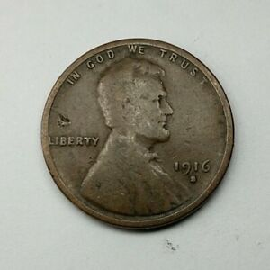 1916   S  US LINCOLN WHEAT CENT BETTER DATE    J68