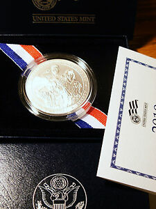 2010  GEM SUPERB BOY SCOUTS COMM. AMAZING SILVER MS    BEAUTIFUL SILVER