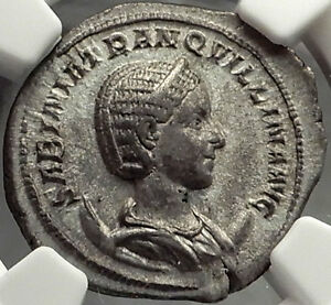 Click now to see the BUY IT NOW Price! TRANQUILLINA 241AD AUTHENTIC ANCIENT ROMAN COIN NGC AU 5/5 4/5 LY