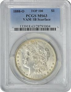 Click now to see the BUY IT NOW Price! 1888 O MORGAN DOLLAR VAM 1B SCARFACE MS63 PCGS MINT STATE 63 SILVER