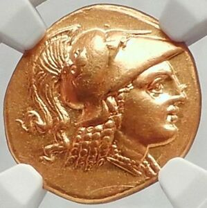 Click now to see the BUY IT NOW Price! ALEXANDER III THE GREAT 323BC AUTHENTIC ANCIENT GOLD STATER NGC CH AU FINE STYLE