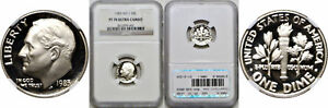 Click now to see the BUY IT NOW Price! 1983 S ROOSEVELT DIME NGC PF 70 ULTRA CAMEO NO 'S'