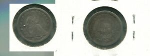 1840 P LIBERTY SEATED SILVER DIME TYPE COIN GOOD SCR 4395K