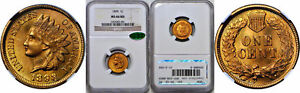 Click now to see the BUY IT NOW Price! 1898 INDIAN HEAD CENT NGC MS 66 RD CAC